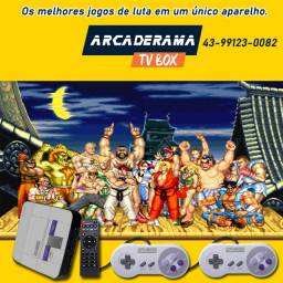 TV game Box - super nintendo + 2000 jogos + smart tv