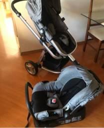 Carrinho com bebê conforto Safety 1st Mobi - Aceito cartão
