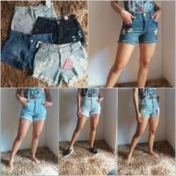 Short Jeans, conj de sutiã e calcinha, Camisa Rota do Mar e bermudas