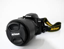 Câmera Nikon D3400 + Kit (2 Lentes e Bolsa)