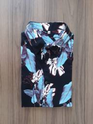 Camisa Floral estampada