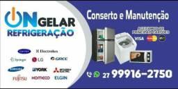 Conserto Máquina de Lavar,,, Geladeira e Freezer...