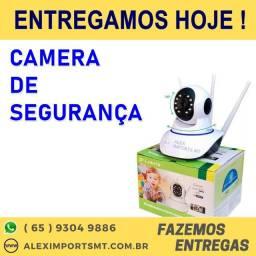 Camera de Segurança Robo 3 Antenas Ip Wifi 360 Sistema Yoosee/yyp2p cuiaba