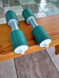 Halteres peso musculação