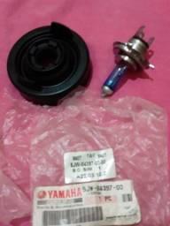 Lâmpada e coifa original da YAMAHA. XJ6.