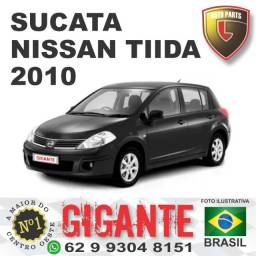 Sucata nissan tiida 2010