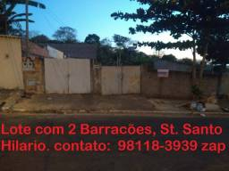 Lote St. Santo Hilario, Otima Oportunidade 360m²
