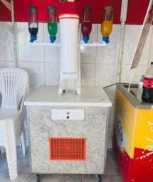 Máquina de sorvete americano