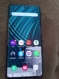 Samsung A71,Prata Ambar,128GB,6Ram,câmera Quádrupla,Frontal 32Mp.