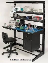 Bancada Para Eletrônica Em Laboratórios E Assistências Técnica