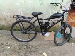 Vendo bike de motor 80cc ou troco por rodas