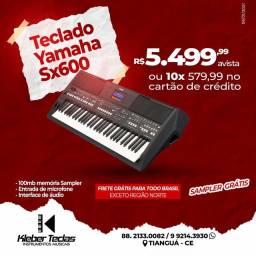 Teclado Yamaha Sx600 novo