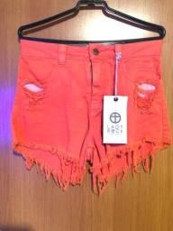 Bazar - Short etiquetado Lady Rock