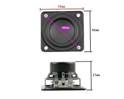Alto Falante Compatível JBL Charge 3 - Charge 2 - Flip 3 Neodimio