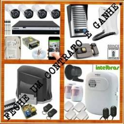 Aluguel instalação manutenção de Câmeras e sistemas de segurança