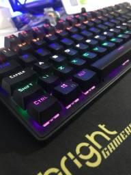 Kit gamer teclado e mouse