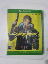 Jogo cyberpunk Xbox one, series S e X lacrado