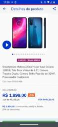 Motorola one hyper azul