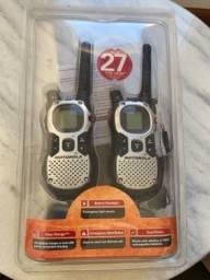 rádio comunicador walk talk duplo MJ270 Motorola 43 km de alcance
