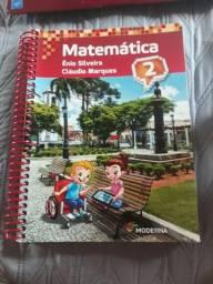 Livro Novo Matemática Ênio e Cláudio 2° Ano Edição 4 Editora Moderna