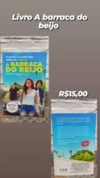 Livro A Barraca Do Beijo