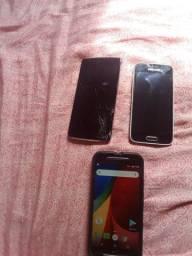 Vendo Moto G2,,Samsung S5 e um LG L8(Ler Abaixo)