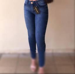 Calças jeans femininas interessados chamar no watts *