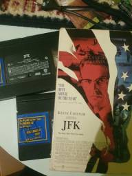 VHS Duplo JFK (americano)