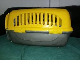 Caixa transporte gato e cachorro para viagem<br>