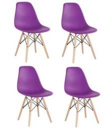 Promoção 04 Cadeira Charles Eiffel Eames R- Design ( nova )