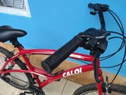 Bicicleta Caloi 200 Vermelha Seminova