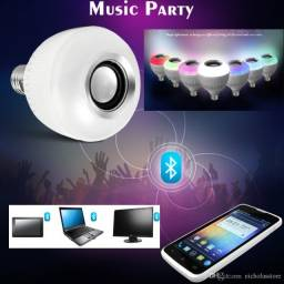 Lampada Musical Bluetooth RGB.