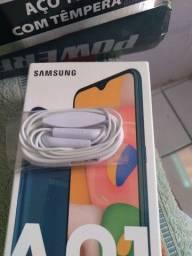 Fone de ouvido novo Samsung