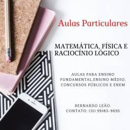 Professor particular de matemática, física e raciocínio lógico