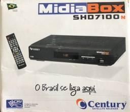 Receptor de Antena parabólica century MIDIABOX