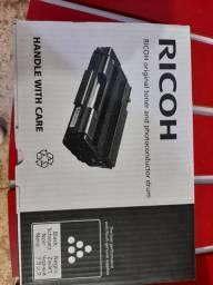 Toners vazio compatíveis com impressoras HP  e Ricoh laser.