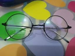 Armação de óculos redonda - nunca usada