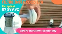 FILTRO INTEX PARA PISCINAS 2006 L/H, SISTEMA HYDRO AERATION TECHNOLOGY
