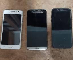 Smartfone A5, G5 e Grand prime