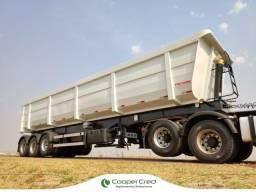 Título do anúncio: Carreta LS Basculante Caçamba 3 eixos 45m³ Facchini 2021