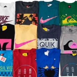 Camisa de malha marcas diversas