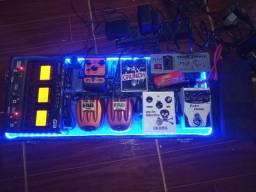 Set de pedais de guitarra