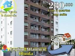 Apartamento em Jardim Atlântico - 230 mil