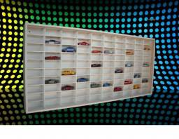 Estante para 100 carros Hotwheels