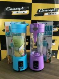 Vendo Mini Liquidificador Portátil 380Ml 6 Lâminas (NOVO)