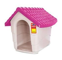 Casinha para cachorro rosa