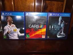 Título do anúncio: Jogos PS4 (não vendo jogo separado)