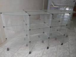 Gôndola de vidro R$800,00