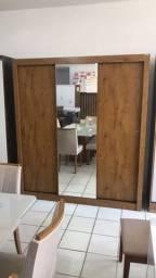 Guarda Roupa Com Espelho 03 portas Slides