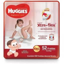 Fralda Huggies XXG c/52